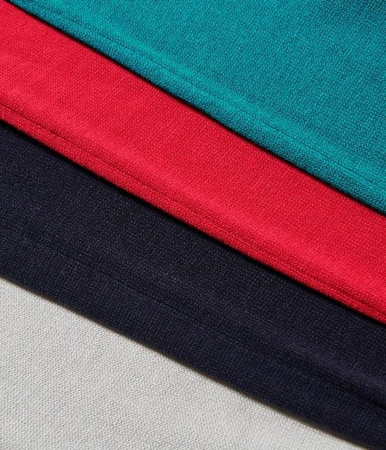 ロペピクニック | 【パチパチしない、ポカポカ素材+洗濯機OK】モックネック袖ボタンプルオーバー - 6
