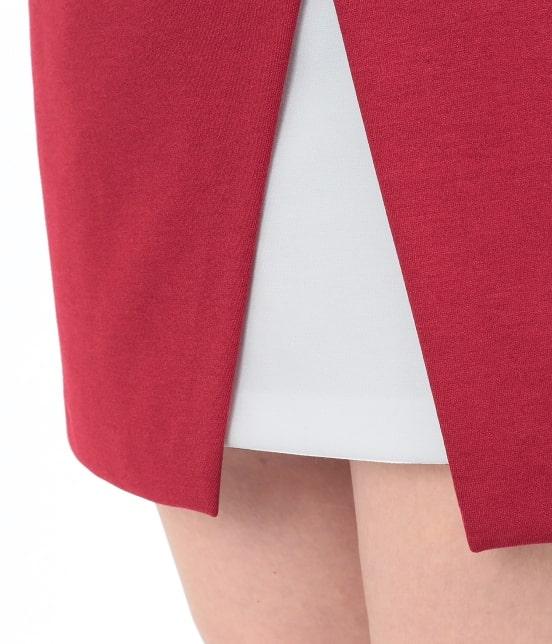 ジュン アンド ロペ | ポンチバイカラーラップスカート - 9