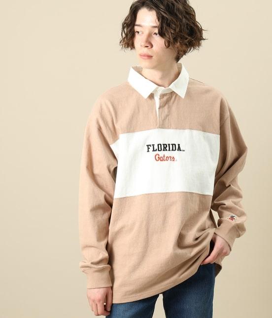 ジュンセレクト | 【UNIVERSITY OF FLORIDA × JUNRed】別注 ビックシルエット ラガーシャツ - 11
