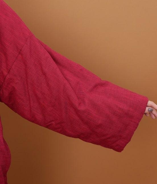 サロン アダム エ ロペ ウィメン | 【宮田織物 for SALON】小夜千鳥半纏 - 7
