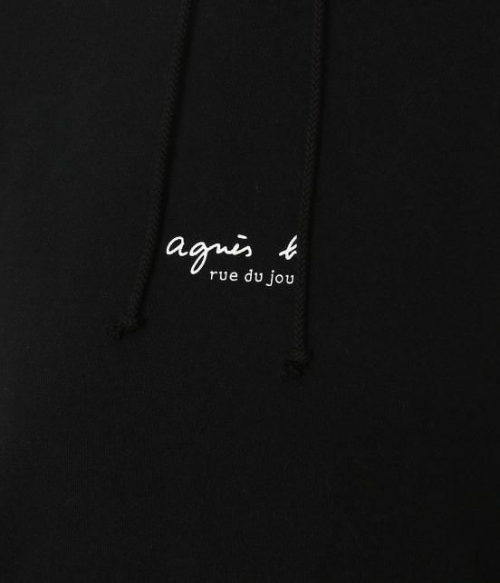 アダム エ ロペ ファム | 【agnes b. pour ADAM ET ROPE' 】HOODED PARKA WITH LOGO - 7