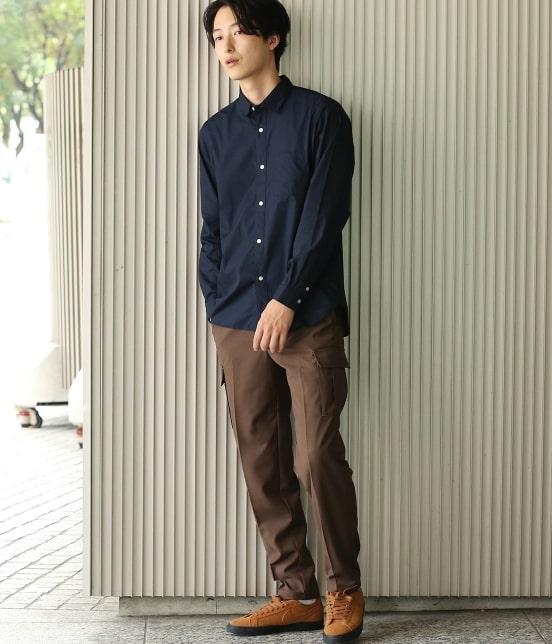 ジュンレッド | 【mens FUDGE  10月号掲載商品】ブロードセミワイドカラーシャツ - 6