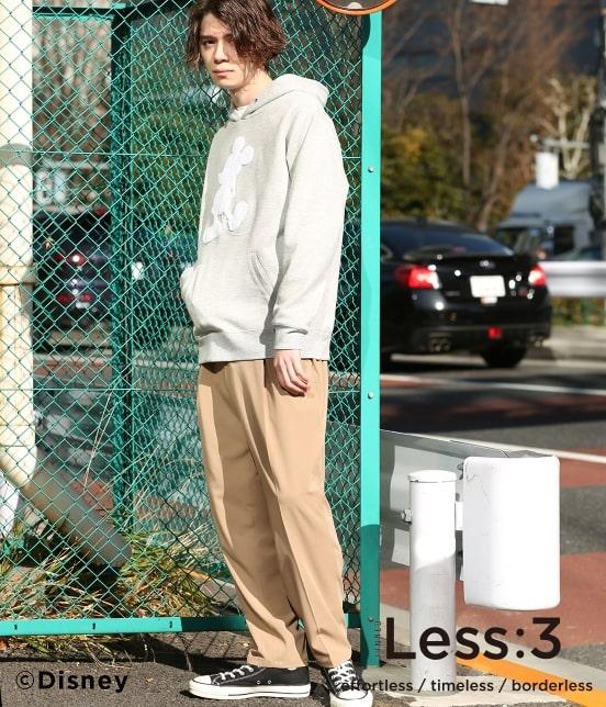 ジュンレッド   【Less:3/レスリー】サガラミッキープルパーカー - 12