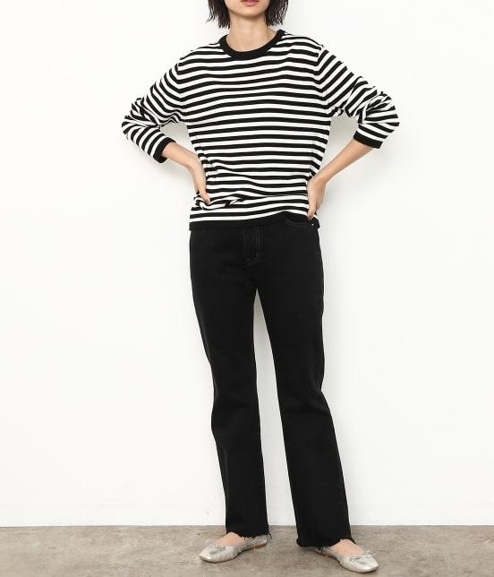 アダム エ ロペ ファム   【ロペシスターズコレクション 辻直子監修】 フレアデニムパンツ - 14