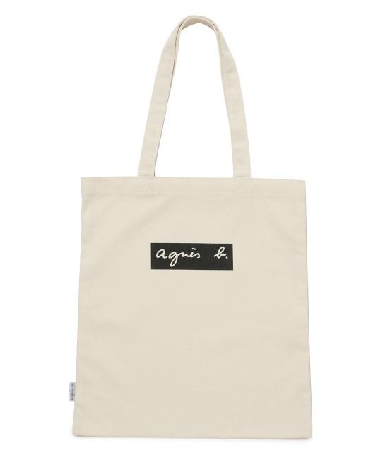 アダム エ ロペ ファム | 【agnes b. pour ADAM ET ROPE'】TOTE BAG WITH BOX LOGO - 1