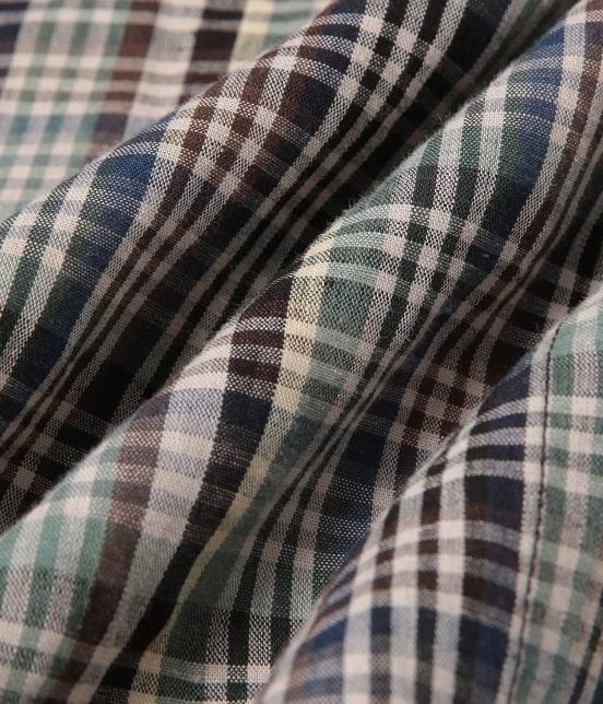 アダム エ ロペ ワイルド ライフ テーラー | 【予約】【PENDLETON】別注バンドカラーシャツ - 7