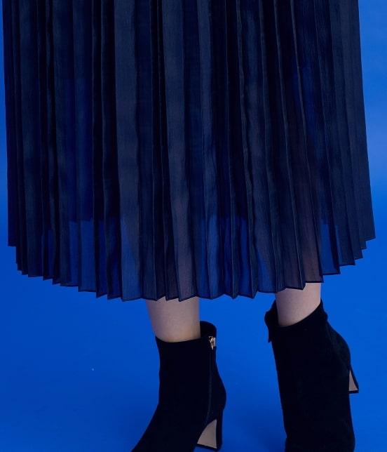 ロペ | 【ロペシスターズコレクション 辻直子監修】オーガンジープリーツスカート - 7