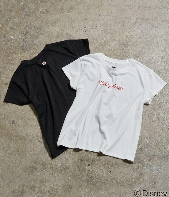 ロペピクニック | 【DISNEY(ディズニー)】 MICKEYロゴTシャツ - 10