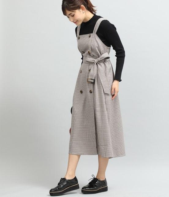 ビス   トレンチジャンパースカート - 12