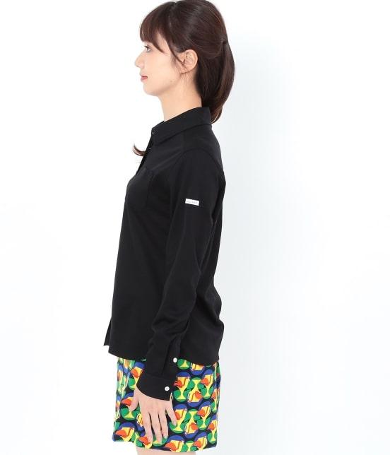 ジュン アンド ロペ   【UVCUT】【吸水速乾】【接触冷感】カットソーシャツ - 1