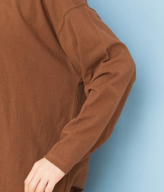 ビス | 【WEB限定】サイドスリットビッグTシャツ - 3