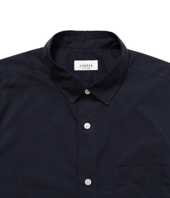 ジュンレッド | 【mens FUDGE  10月号掲載商品】ブロードセミワイドカラーシャツ - 1