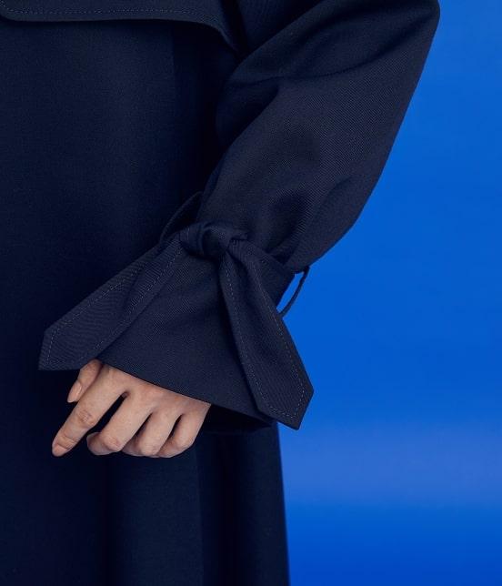ロペ | 【予約】【ロペシスターズコレクション 辻直子監修】ウールツイルロングコート - 8