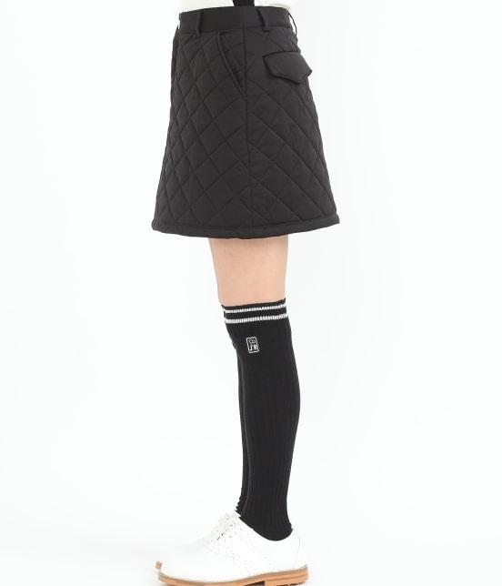 ジュン アンド ロペ | 【予約】【撥水】【防風】キルティングスカート - 1