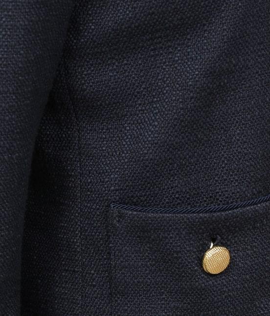 ロペ | 【セットアップ対応】【SS/S/Lサイズあり】スラブツィードノーカラーポケットジャケット - 12