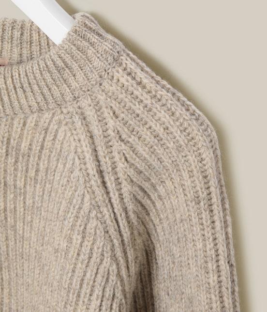 アダム エ ロペ ワイルド ライフ テーラー | 【BONCOURA】 Fisherman Sweater - 3