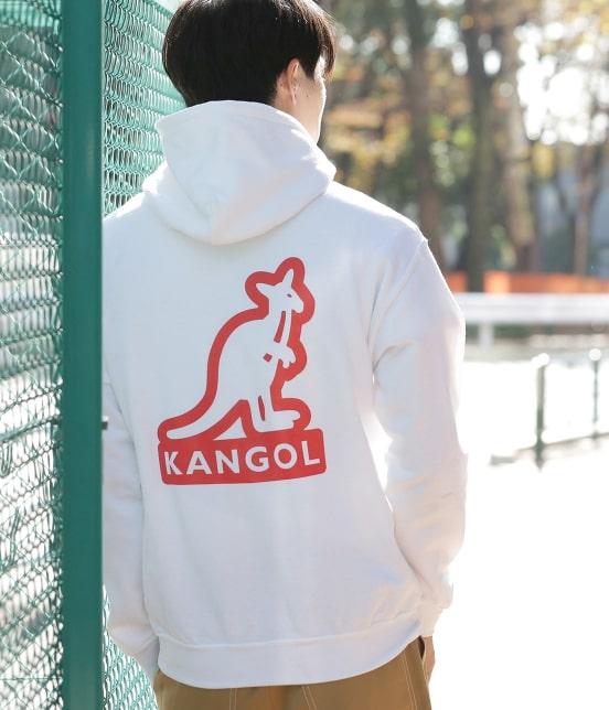 ジュンセレクト | 【予約】【KANGOL】WEB別注 シルエットロゴプルパーカー - 17