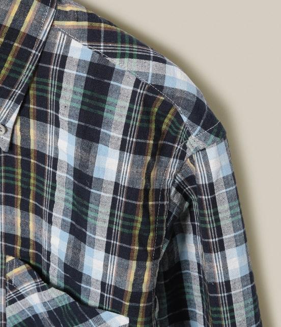 アダム エ ロペ ワイルド ライフ テーラー | 【BONCOURA】 ワークシャツマドラス - 3