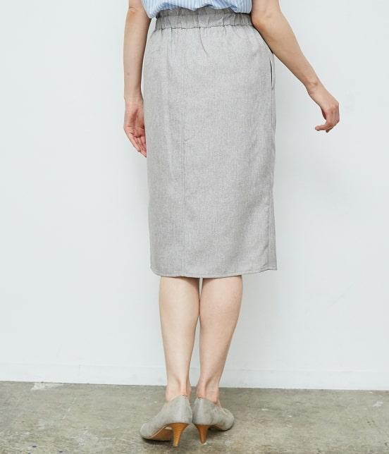 ロペピクニック | 【HAPPY PRICE】麻調アイラインスカート - 2