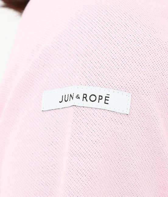 ジュン アンド ロペ | 【UV CUT】【吸水速乾】【接触冷感】ミリオンアイス切替半袖ポロシャツ - 8