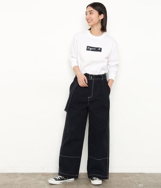 アダム エ ロペ ファム | 【agnes b. pour ADAM ET ROPE' 】Long Sleeve T-shirts - 15