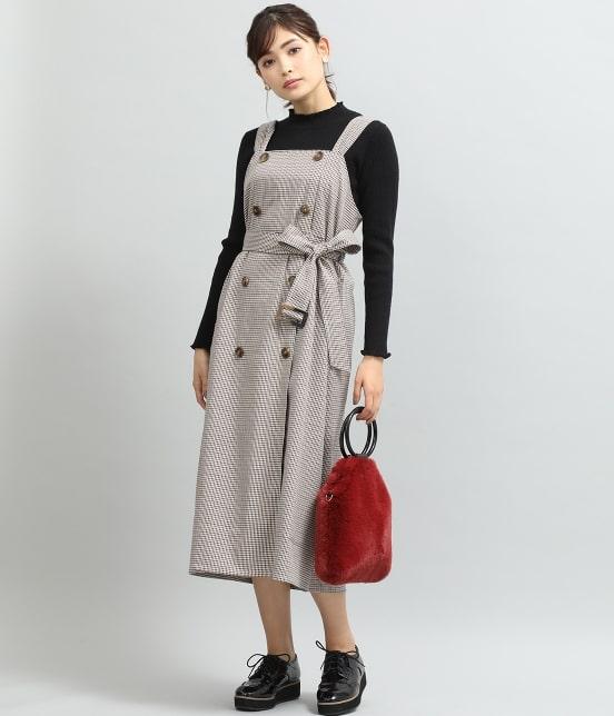 ビス   トレンチジャンパースカート - 11