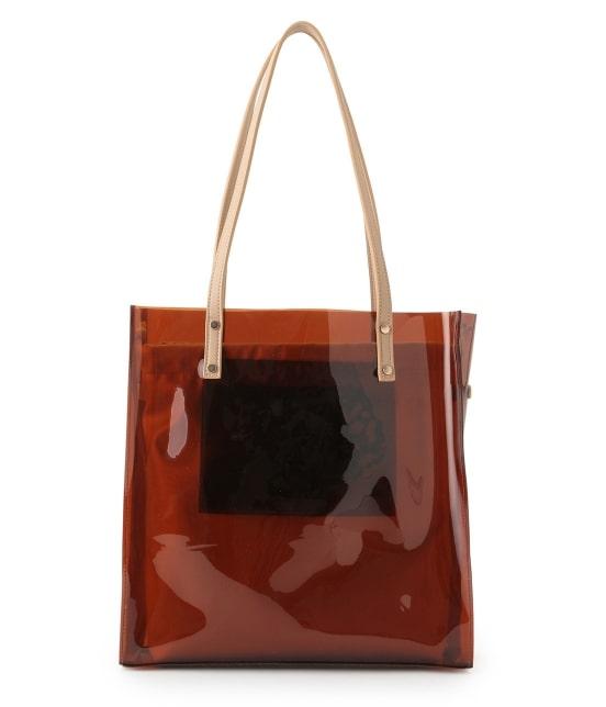 ロペピクニックパサージュ   メタリック巾着付ビニールトートバッグ - 2