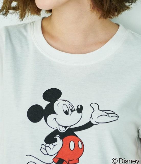 ロペピクニック   【DISNEY(ディズニー)】 MICKEY Tシャツ - 3