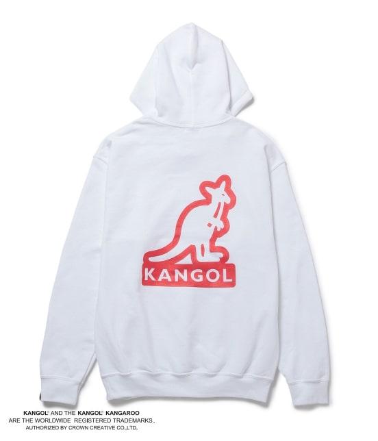 ジュンセレクト | 【予約】【KANGOL】WEB別注 シルエットロゴプルパーカー - 12