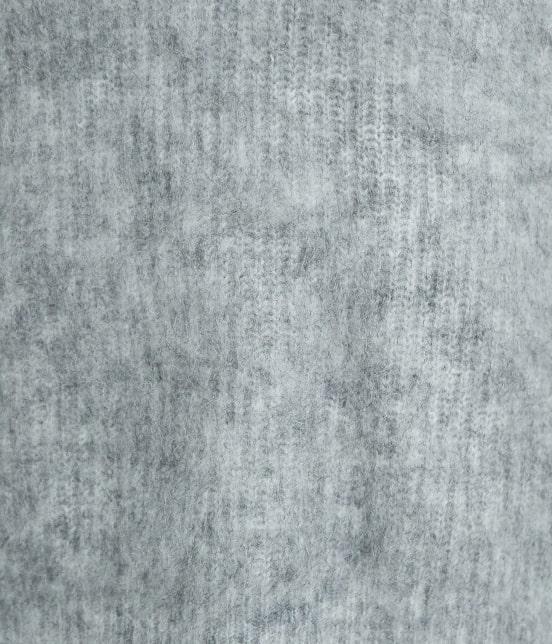 ロペピクニック | 【ふっくらスフレニット】起毛MIXヤーンVネックニット - 6