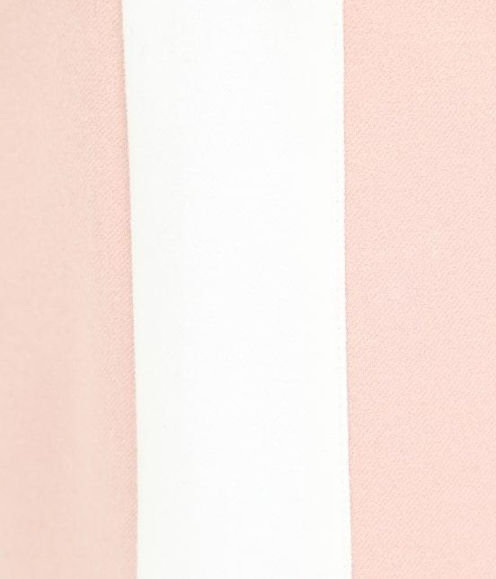 ジュン アンド ロペ   【保温】両面起毛ロゴ入り配色スカート - 10