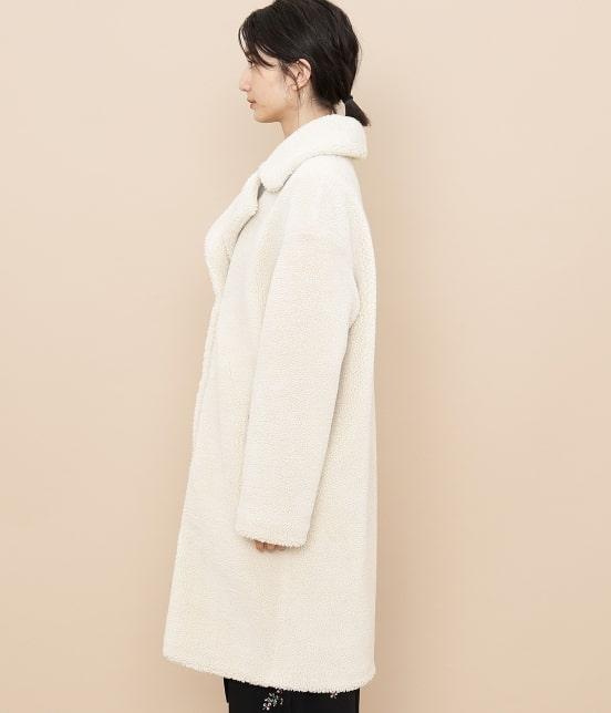 アダム エ ロペ ファム | 【STAND】Camille Teddy Faux Fur - 6