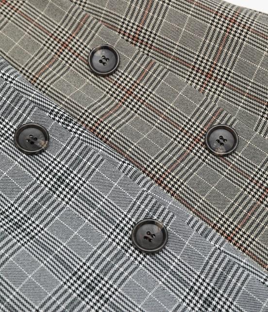 ロペピクニック | ウーリッシュフラノチェックタイトスカート - 7