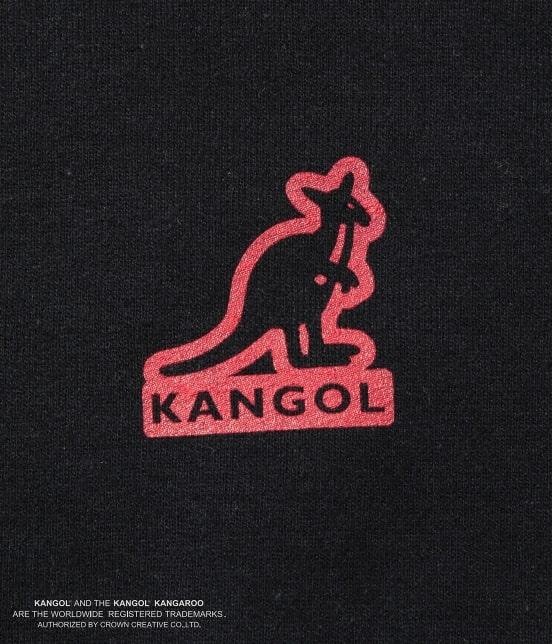 ジュンセレクト | 【予約】【KANGOL】WEB別注 シルエットロゴプルパーカー - 8