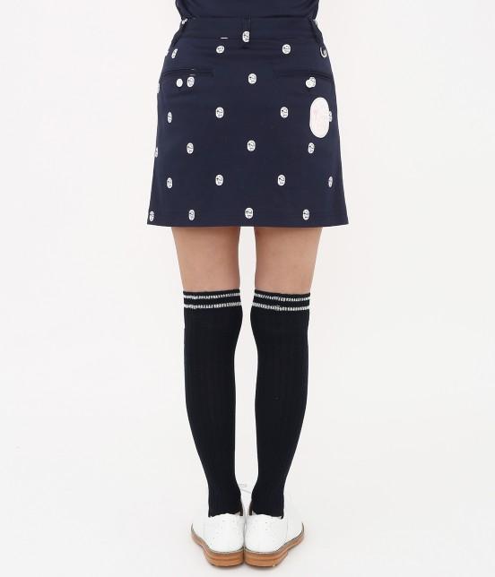 ジュン アンド ロペ | 【TIME SALE】ワッペン柄プリントカラーブロックスカート - 3