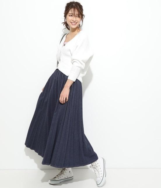 ビス   【一部店舗先行入荷】畦柄変形ニットカーディガン - 9