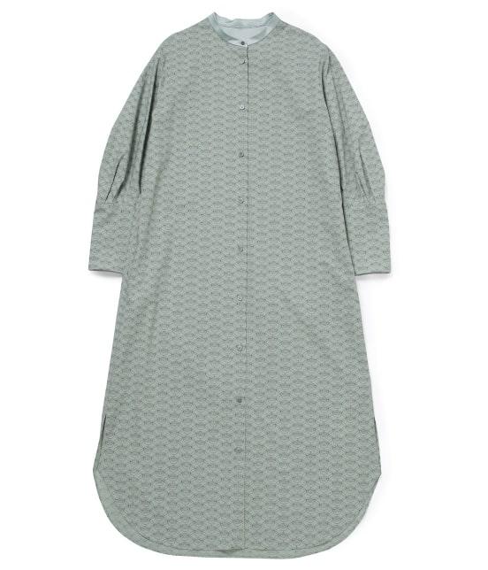 サロン アダム エ ロペ ウィメン   【MAISON DU BON for SALON】プロヴァンスプリントシャツドレス - 1