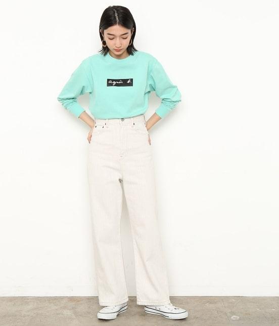 アダム エ ロペ ファム | 【agnes b. pour ADAM ET ROPE' 】Long Sleeve T-shirts - 3