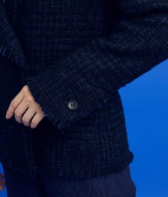 ロペ | 【ロペシスターズコレクション 辻直子監修】グレンチェックツイードジャケット - 6
