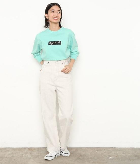 アダム エ ロペ ファム | 【agnes b. pour ADAM ET ROPE' 】Long Sleeve T-shirts - 16