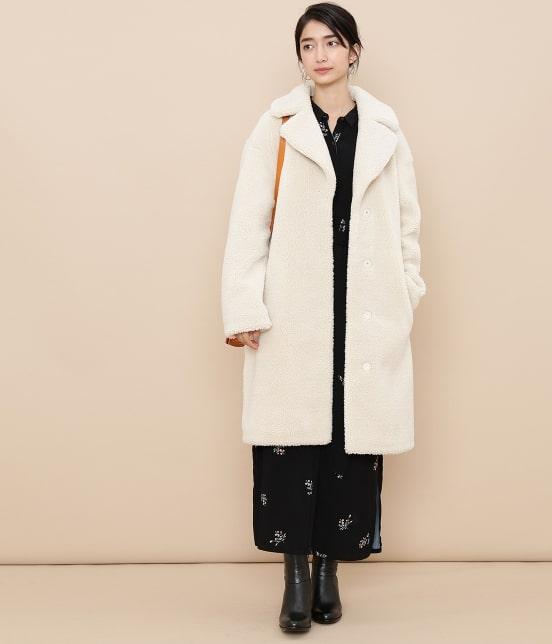 アダム エ ロペ ファム | 【STAND】Camille Teddy Faux Fur - 16
